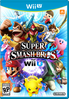Super Smash Bros For Wii U Box Art by Lucas-Zero