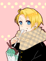 APH - I love the ice cream by milaa-chan