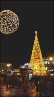 Christmas Tree in Puerta del Sol I by MissArtistsoul