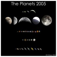 The Planets 2005 by Chrissyo