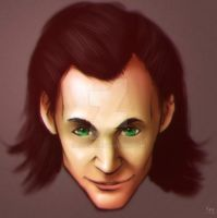 Loki Sketch by Jevi93