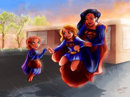 Superwoman Intro Supergirl 2 Daughter by Mistytang by kclcmdr