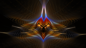 Fractal Wallpaper LXV: Kingdom Come by ScraNo