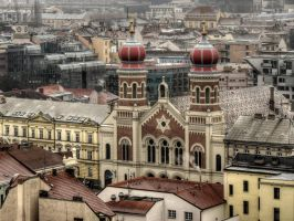 The Great Synagogue by MisterKrababbel