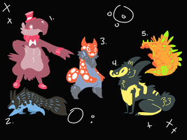 Adopts12 CLOSED by HauntedHomo