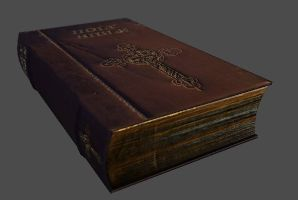 Bible 3d Model by ptornot