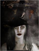 Solitary Witch by imLilus