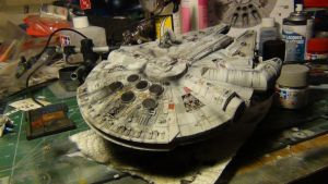 Millenium Falcon 020 by THE-WHITE-TIGER