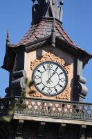 Clock Tower Stock by Billy-jean-stock