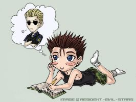 boys dont keep diaries, Chris by Resident-evil-STARS