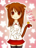 boku wa neko color by H--neko