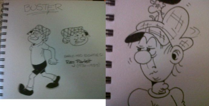 80s Buster - sketches by bromley001