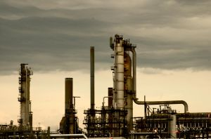 Oil Refinery by NorthernOracle