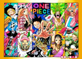 One Piece 790 Color Cover by Unrealyeto