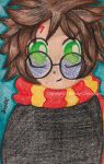 Harry Potter Chibi by WendyFae