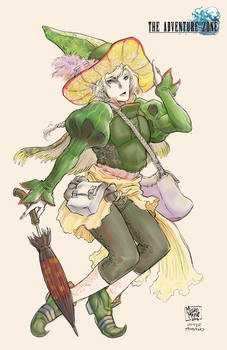 Adventure Zone a la Amano - Taako by MichaelMayne