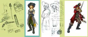 Young..er.. Barbossa studies by pikapikashuichi