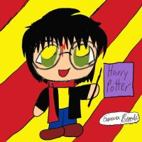 Harry Potter chibi by potterchic1