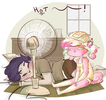 It's actually not hot by CuppycakeSprinkles