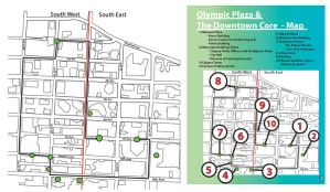 Map and Jane's Walk Itinerary - Downtown Calgary by Seanpt-Architecture
