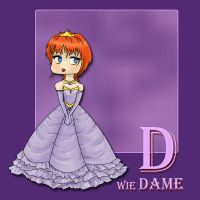 D wie Dame by syccas