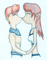 Clair and Lyle ESKIMO KISS Color by EsotericDichotomy