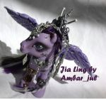 My little pony custom Jia Ling by AmbarJulieta