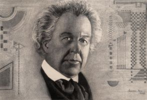 Frank Lloyd Wright by akrathan