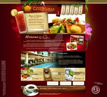 Casa Blanca Subic Website by acube2008