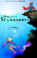 Scubaneers movie poster by PixarVixen