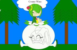Cosmo wins by shadevore