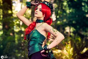 Steampunk Poison Ivy Cosplay by LaurenTrillium