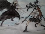 Sephiroth and Sabi(Contest Entry) by BOUSISUMMER