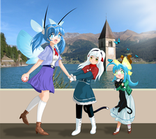 AROS and the MorphOS Sisters by C-quel