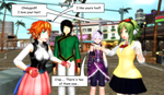 .:MMD:. Not-so Great Minds..... by Miku-Nyan02