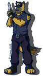 Police Dog by Vent-Kazemaru