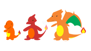 Fire Starters Kanto Ver. by DavidGongora