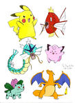 Pokemon sketches by beasays