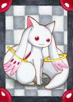 Kakao Nr.6 Kyubey by cat-the-mouse