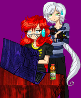 Rhiannon and Yaten - ID COLOR by JATGProductions