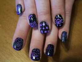 Doodle Nails 2 by Boo-tastic
