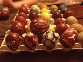 easter eggs :) by iasio
