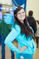My Little Pony ~ Rainbow Dash by JUNeProductions
