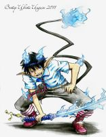Ao no exorcist by KazeAi7
