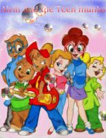 Alvin and The Teenmunks by CTW36