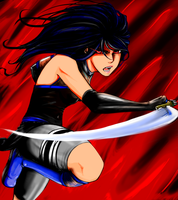 Akua Uchiha Fan Art by Aspiring-Artist22
