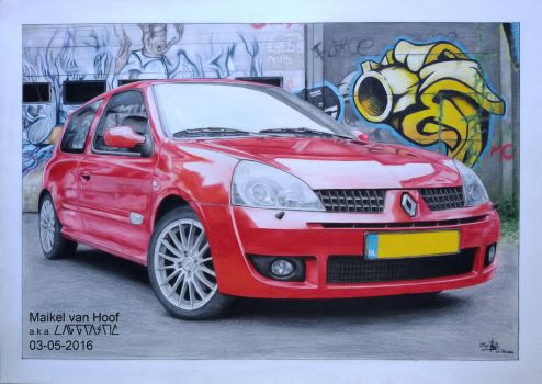 Renault Clio_Finished by Laggtastic