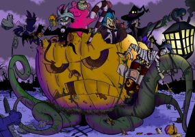 Halloween Parade 2.0 by BoscoloAndrea
