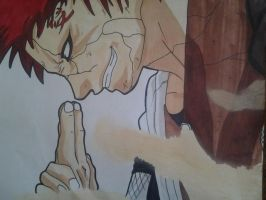 Crazy Gaara by Narushiz