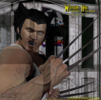 Wolverine Hair for Genesis by CMK24601 by CMKook-24601
